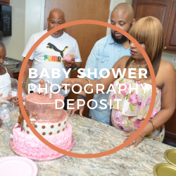 Baby Shower Photography Deposit