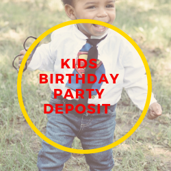 Kid Party Photography Deposit